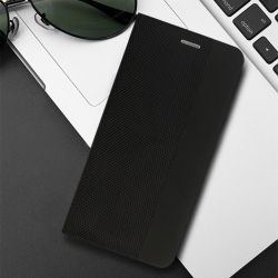 Калъф Flip Book Vennus Sensitive за IPhone 11, Черен